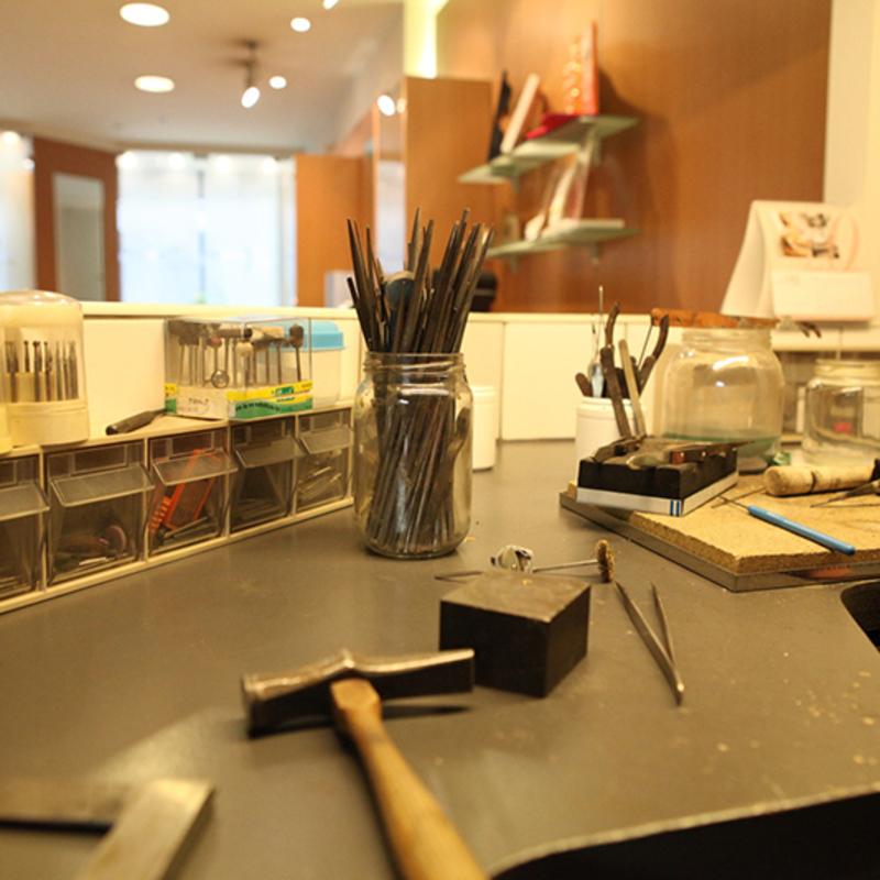 Goudsmid Christel Moens - Atelier